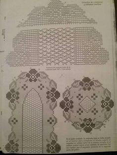 Filet Crochet Charts, Crochet Doily Patterns, Crochet Art, Crochet Doilies, Crochet Tablecloth, Blackwork, Crochet Projects, Needlework, Diy And Crafts