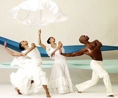 Alvin Ailey American Dance Theater's Linda Celeste Sims, Alicia J. Graf and Glenn Allen Sims in Revelations.