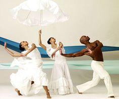 Alvin Ailey American Dance Theater's Linda Celeste Sims, Alicia J. Graf and Glenn Allen Sims in Revelations.