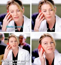 Grey's anatomy. laughed so hard at this part