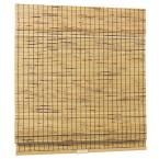 Natural Woven Bamboo Burnout Cordless Roman Shade (Price Varies by Size)