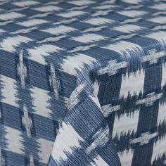 Worldly | Color: Denim - La Tavola Fine Linen