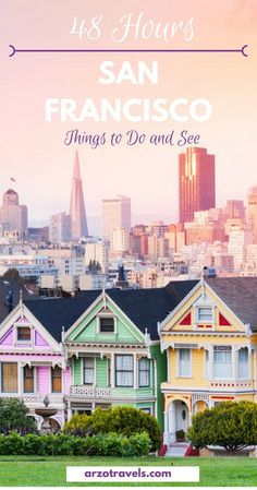 2 Days in San Francisco Itinerary - Fun Things to Do + Travel Tips San Francisco it's on! Are you ready for 2 fun-filled days in San Francisco? Get your comfortable shoes on and lets explore the best things to do in San Francisco on your city break. Usa Travel Guide, Travel Usa, Travel Tips, Travel Destinations, Travel Checklist, Travel Hacks, Travel Ideas, Travel Packing, Budget Travel