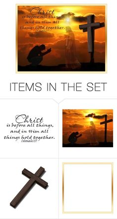"""""""In Him"""" by nansg ❤ liked on Polyvore featuring art"""