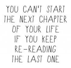 So i habe to move on.