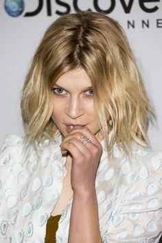 Clemence Poesy Photos Photos - Actress Clemence Poesy poses on August 7, 2014 in Locarno, Switzerland. - Cineasti Del Presente Jury Portraits
