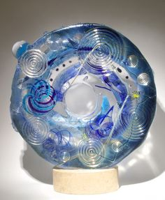 Art Glass Sculpturefrom Kela's...a glass gallery on Kauai