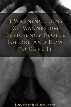 Did you know that 80% of Americans are magnesium deficient? Today I'm going to share with you 8 warnings signs that you have magnesium deficiency and also top 20 Magnesium Rich Foods.