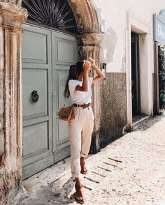 """"""" Kammy Almeida - Look do dia, Moda e Beleza saved to { fave outfits - outfit - looks } 2k Planejando o Guarda-Roupa de Verão, guarda-roupa de verão, o que usar no verão, montando guarda-roupa de verão, macacão de linho"""""""