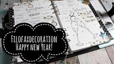 Filofaxdecoration / Happy New Year!