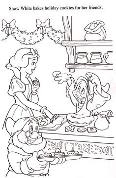 Snow White | Disney Coloring Pages