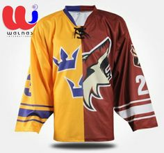 Reversible Sublimation Ice Hockey Jerseys China  Ice Hockey Wear Custom  Half and Half Jersey 96d2387c3