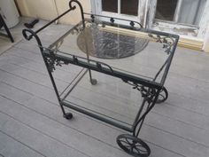 Patio Sets Wrought Iron And 1950s On Pinterest