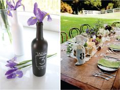 Wedding Table Number Galore | bellethemagazine.com