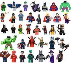 Lego Acrylic Minifigure Display Case Wonder Woman Poison