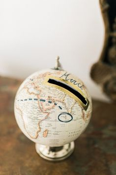 Globe Wedding Detail Ideas Image By Christophe Serrano Boda Diy Ski