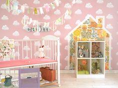 プチDIYつきママもパパもキュンとするとびっきり可愛いガールズルームの作り方とは