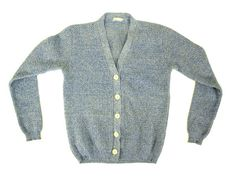 SALE  Vintage Light Blue Cardigan Sweater  by IvyLeagueVintage, $30.00