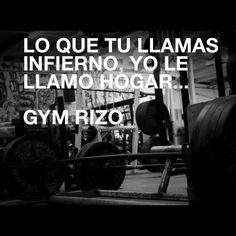 Recopilación frases de motivación. Gym Rizo Motivation… | Gimnasio ...