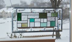 Hey, I found this really awesome Etsy listing at https://www.etsy.com/listing/172958303/beveled-green-transom-sidelight-stained