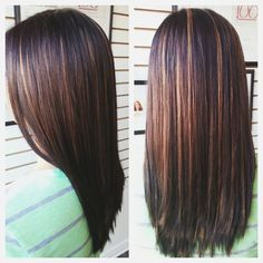 Fall Hair Color | Mahogany Brown & Caramel Thinking this as my next haircolor next time I come in!!