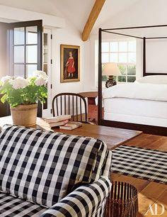 Tour 10 plaid rooms with serious style