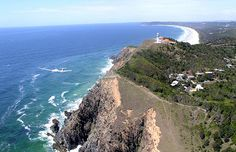 Byron Bay - in New South Wales. Tourist attraction..
