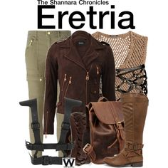 Inspired by Ivana Baquero as Eretria on The Shannara Chronicles.