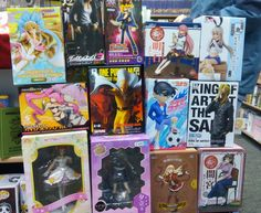 Neue Anime Figuren sind da.