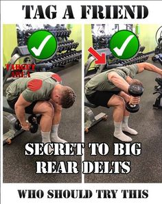 Rear Delts Raises
