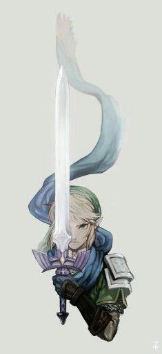 Legend of Zelda fanart - Artist: tsuyu The Legend Of Zelda, Legend Of Zelda Breath, Legend Of Zelda Tattoos, Star Wars Comics, Wallpapers Games, Geeks, Image Zelda, Link Zelda, Twilight Princess