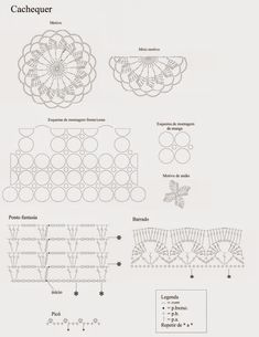 Delicadezas en crochet Gabriela: Túnica y blusas con patrones