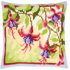 Fuschias Cushion - The Fox Collection