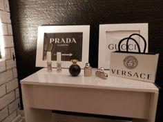 Miniatur Puppenhaus  1:6 Vanity Kollektion von finescales auf DaWanda.com