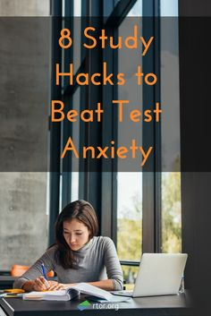 8 Study Hacks to Beat Test Anxiety. Super helpful article for finals! Test Anxiety, Deal With Anxiety, Anxiety Tips, Stress And Anxiety, Social Anxiety, Test Taking Skills, Test Taking Strategies