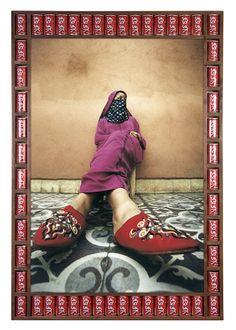 Twisted Babouche by Hassan Hajjaj