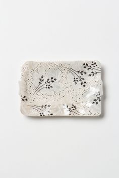 Sweet Pea Soap Dish / Anthropologie.com #neutral