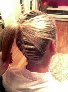 We've gathered our favorite ideas for 11 Everyday Hairstyles For French Braid Popular Haircuts, Explore our list of popular images of 11 Everyday Hairstyles For French Braid Popular Haircuts in french braid hairstyles for long hair. French Braid Hairstyles, Up Hairstyles, Pretty Hairstyles, French Braids, Holiday Hairstyles, Hairstyles For Softball, Hairstyle Ideas, Amazing Hairstyles, Princess Hairstyles
