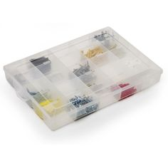 Wilko 20 Compartment Organiser Clear Large