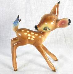 vintage bambi figurine