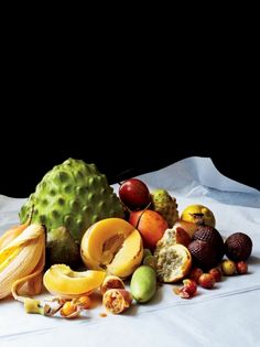 Some of Peru's exotic fruits.