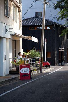 Efish Cafe, Kyoto.  trip_to_kyoto-6414 by kitka.ca, via Flickr