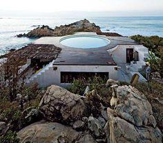 mexikanisches Haus Außendesign