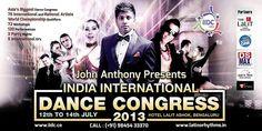 2013 India International Dance Congress Performances, Workshops and Judging July 12-14, 2013 Bangalore, India http://indiainternationaldancecongress.com/ Photos Soon! Videos Soon! www.davidandpaulina.com