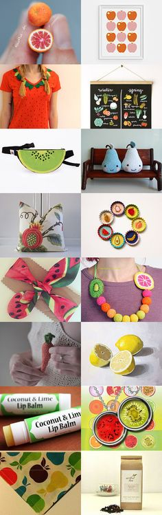 Fruit gifts! by Ivana Kristina on Etsy--Pinned with TreasuryPin.com