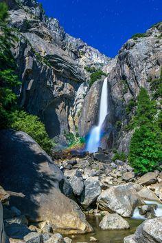 Lower Yosemite Falls, Yosemite National Park, California