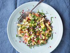 This zesty salsa is delicious with chicken or white fish, but is just as lovely on its own—like summer on a plate. It is beautifully full of essential vitamins and antioxidants, which help to neutralize …
