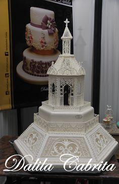 Torta decorada con Glasé real.