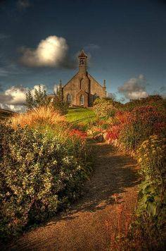 Weisdale Kirk, Weisdale, Shetland Isles, Scotland