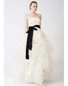 Hof-Schleppe Tülle Elegant & Luxuriös Brautkleider 2014